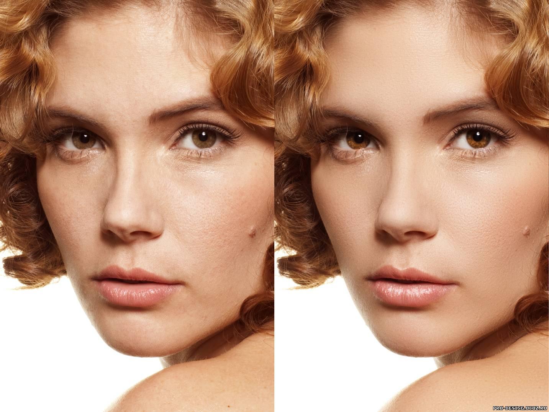 Как сделать лицо красивым и гладкими 163